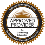NCBTMB approved provider of massage therapist CEUs